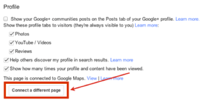 Connect Your Google+ Business Page to Google Maps