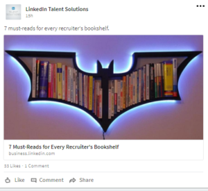 LinkedIn Talent Solutions Showcase Page